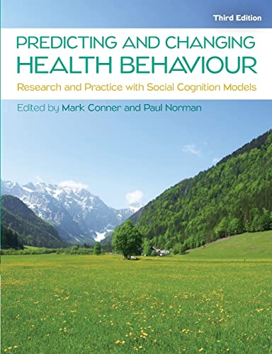 9780335263783: PREDICTING AND CHANGING HEALTH BEHAVIOUR: RESEARCH AND PRACTICE WITH SOCIAL COGNITION MODELS