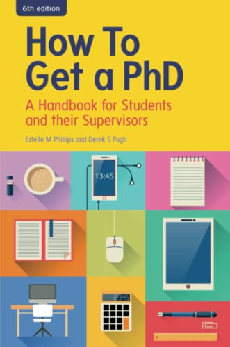 9780335264124: How To Get A Phd