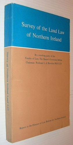 9780337021626: Survey of the land law of Northern Ireland,