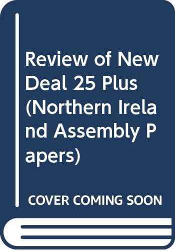 Review of New Deal 25 Plus (Northern: Northern Ireland: Northern