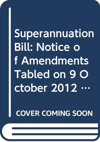 Superannuation Bill: Notice of Amendments Tabled on: Northern Ireland: Northern