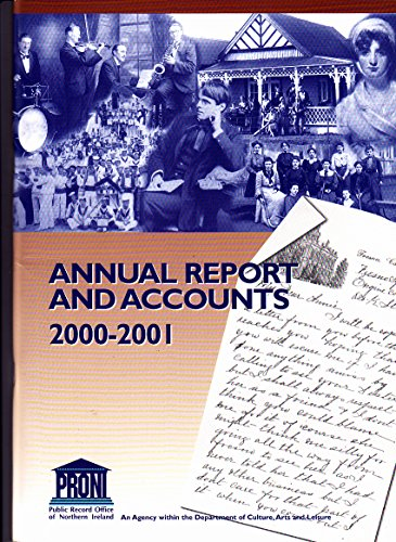 Public Record Office of Northern Ireland: Annual: n/a