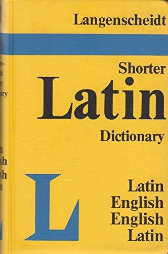 9780340000335: Langenscheidt's Shorter Latin-English, English-Latin Dictionary