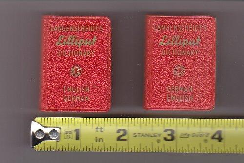 9780340000465: Langenscheidt's German-English, English-German Dictionary: English-German (Lilliput)