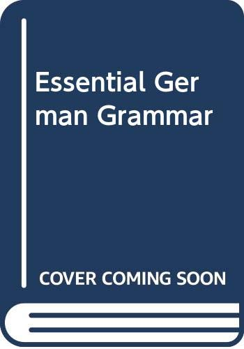 9780340006887: Essential German Grammar