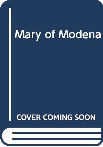 9780340013151: Mary of Modena
