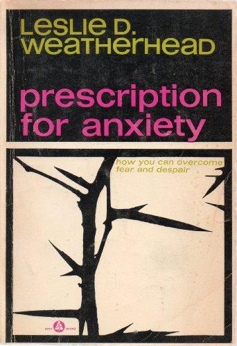 9780340015957: Prescription for Anxiety