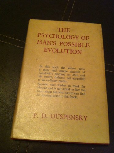 9780340016138: Psychology of Man's Possible Evolution