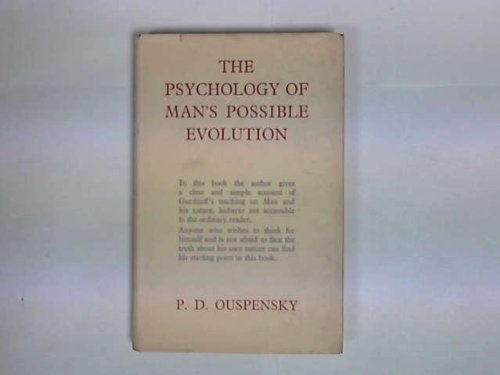 9780340016138: The Psychology of Man's Possible Evolution