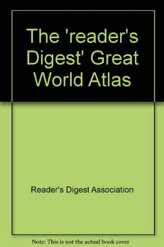 9780340016367: The Reader's digest great world atlas