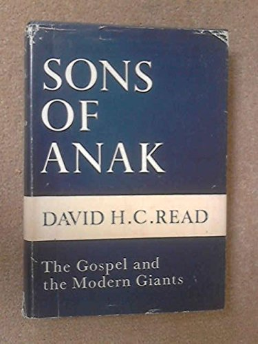 9780340020562: Sons of Anak; the Gospel and the Modern Giants, Sermons