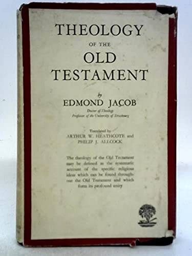 9780340021828: Theology of the Old Testament