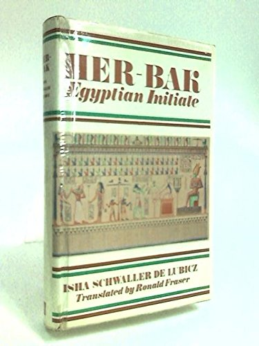 9780340025758: Her-Bak: Egyptian Initiate