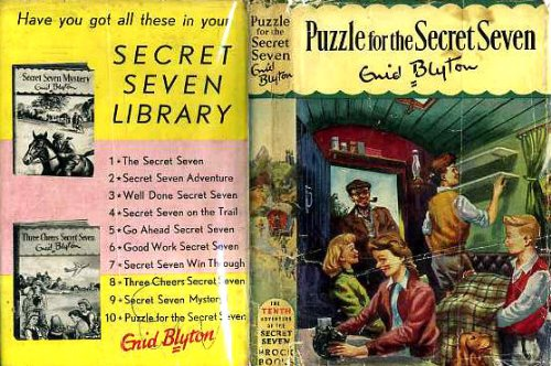 9780340037638: puzzle for the secret seven