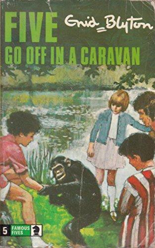 9780340040010: Five Go Off in a Caravan
