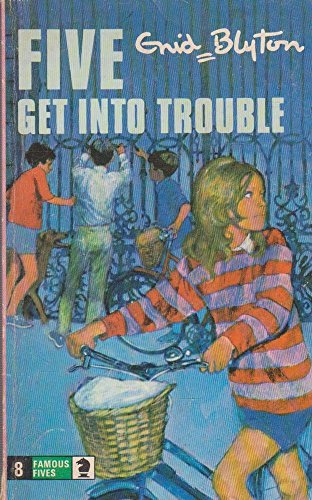 9780340041352: Five Get into Trouble (Knight Books)