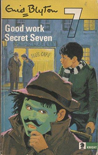 9780340042441: Good Work, Secret Seven (Knight Books)