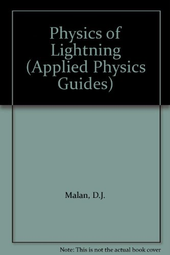 9780340048283: Physics of Lightning (Applied Physics Guides)