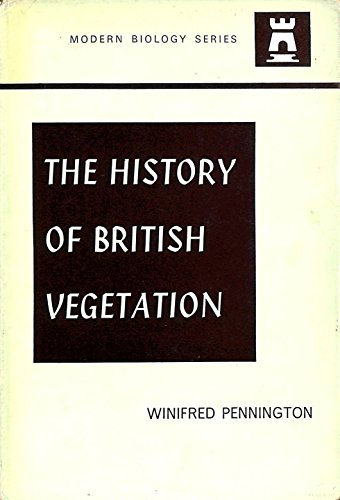 9780340050057: History of British Vegetation (Modern biology)