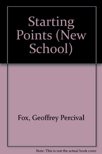 9780340051221: Starting Points (New School)