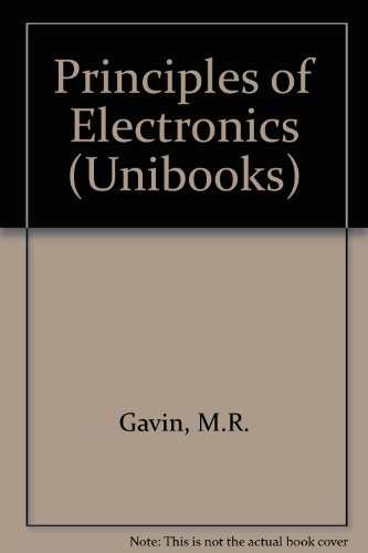 9780340052181: Principles of Electronics (Unibooks)