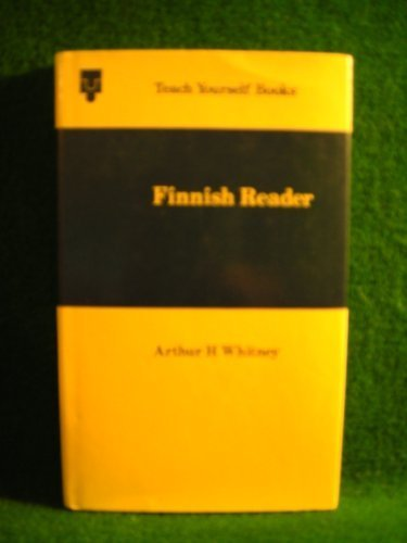 9780340053935: Finnish Reader: Extracts from modern Finnish literature