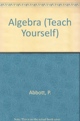 9780340055014: Algebra (Teach Yourself)