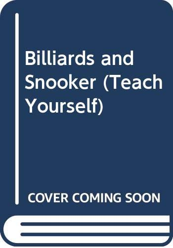9780340055236: Billiards and Snooker (Teach Yourself Books)