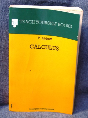9780340055366: Calculus (Teach yourself books)