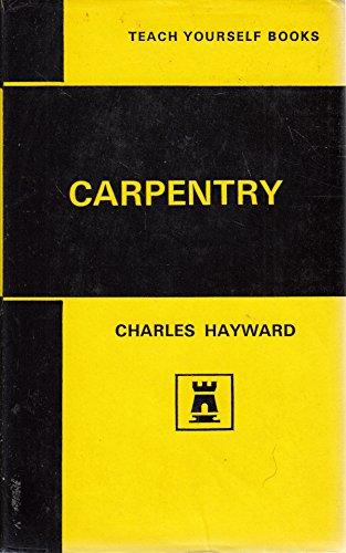 9780340055403: Carpentry (Teach Yourself)
