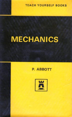 9780340056530: MECHANICS (TEACH YOURSELF S.)