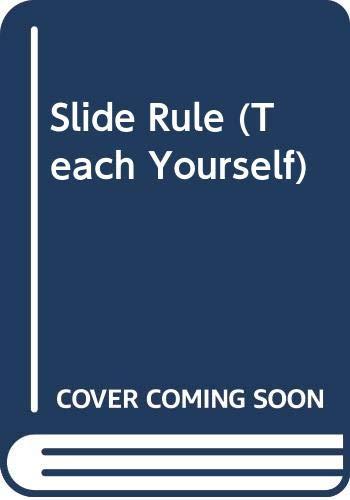 9780340057186: Slide Rule (Teach Yourself)
