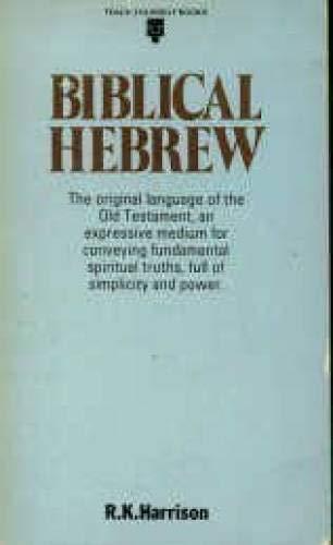 9780340057940: Biblical Hebrew (Teach Yourself Books)
