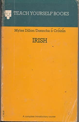 9780340057971: Irish (Teach Yourself)