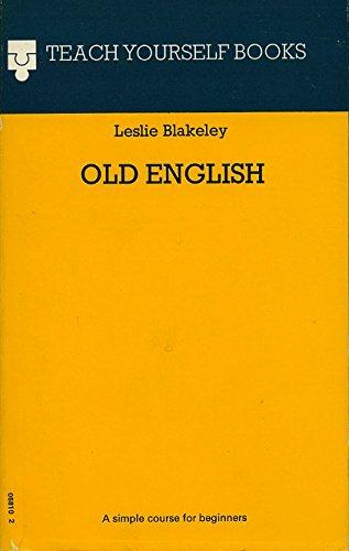 9780340058107: Old English (Teach Yourself)