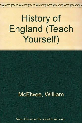 9780340058930: History of England (Teach Yourself)