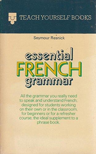 9780340059296: Essential French Grammar (Teach Yourself)