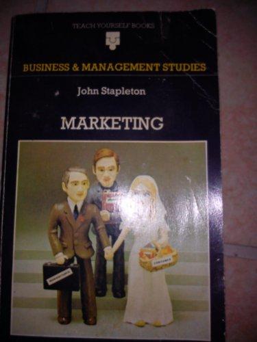 9780340059678: Marketing (Teach Yourself)