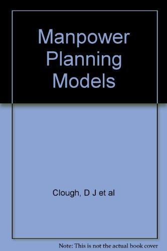 9780340063279: Manpower Planning Models