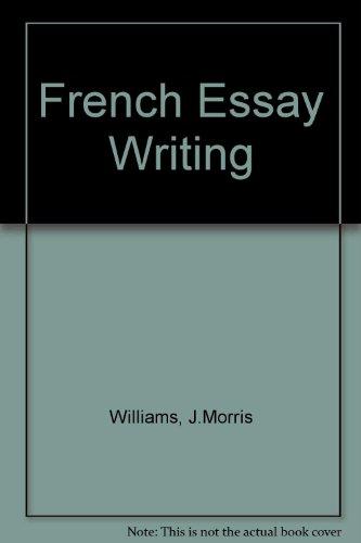 9780340066553: French Essay Writing