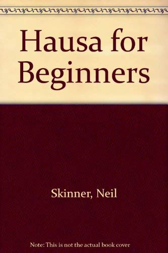 9780340069240: Hausa for Beginners