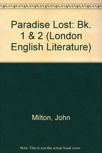 9780340075265: Paradise Lost: books i and ii