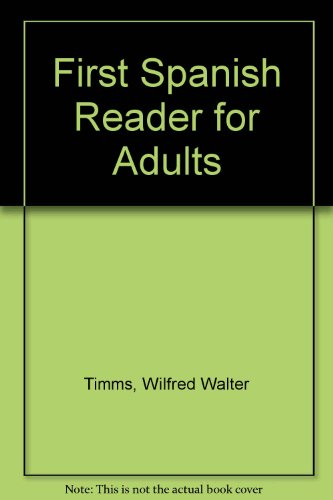 9780340087558: First Spanish Reader for Adults
