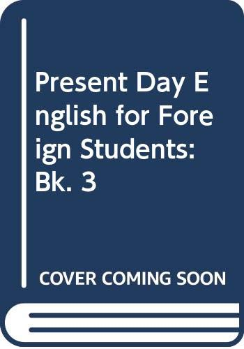 Present day english for foreign students.: CANDLIN E. Frank