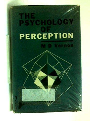 9780340090336: Psychology of Perception