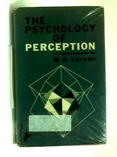 9780340090336: The Psychology of Perception