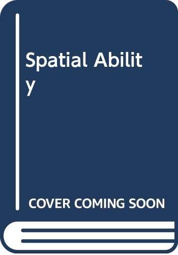 9780340091029: Spatial Ability