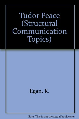 9780340095799: Tudor Peace (Structural Communication Topics)