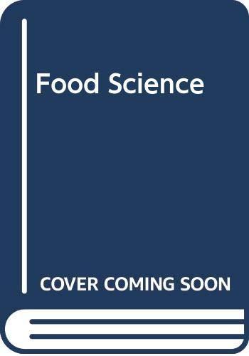 9780340096383: Food Science