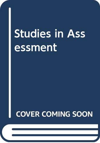 Studies in Assessment: Eggleston, J.F.; Kerr,